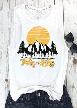 Take a Hike Tank - Bohemian Trading Post