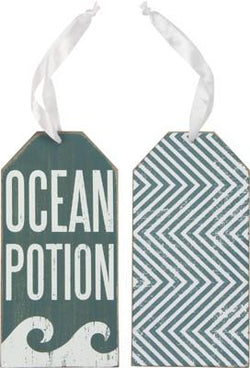 Ocean Potion - Bottle Tag - Bohemian Trading Post