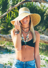 Sunset Crystal Choker - Bohemian Trading Post
