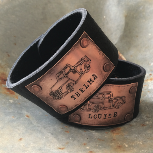 Bestie Cuff - Thelma + Louise - Bohemian Trading Post