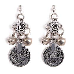 Gypsy Coin Earrings - Bohemian Trading Post