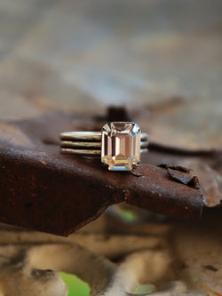 Audrey Crystal Ring - Bohemian Trading Post
