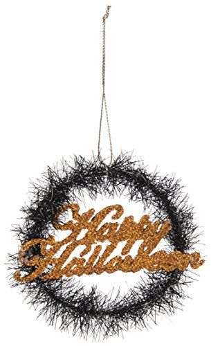 Happy Halloween Wreath Ornament - Bohemian Trading Post