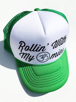 Rollin' With My Omies Trucker Hat - Bohemian Trading Post