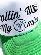 "Rollin"" With My Omies Trucker Hat - Bohemian Trading Post"