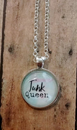Junk Queen Pendant Necklace