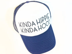 Kinda Hippie | Kinda Hood Trucker Hat - Bohemian Trading Post