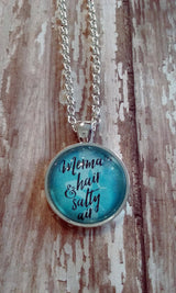 Mermaid Hair + Salty Air Pendant Necklace - Bohemian Trading Post