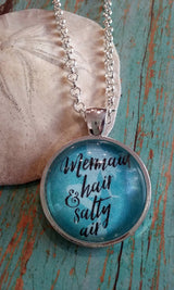 Mermaid Hair + Salty Air Pendant Necklace