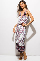 Soleil Ethnic Jumpsuit - Bohemian Trading Post