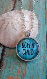 Ocean Child Pendant Necklace - Bohemian Trading Post