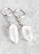 Quartz Point Keychain - Bohemian Trading Post