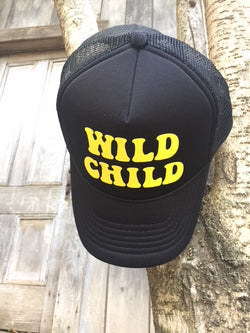 Wild Child Trucker Hat - Bohemian Trading Post