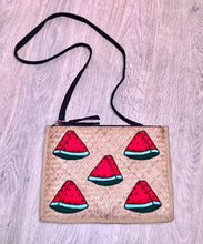 Watermelon Crossbody / Clutch Bag