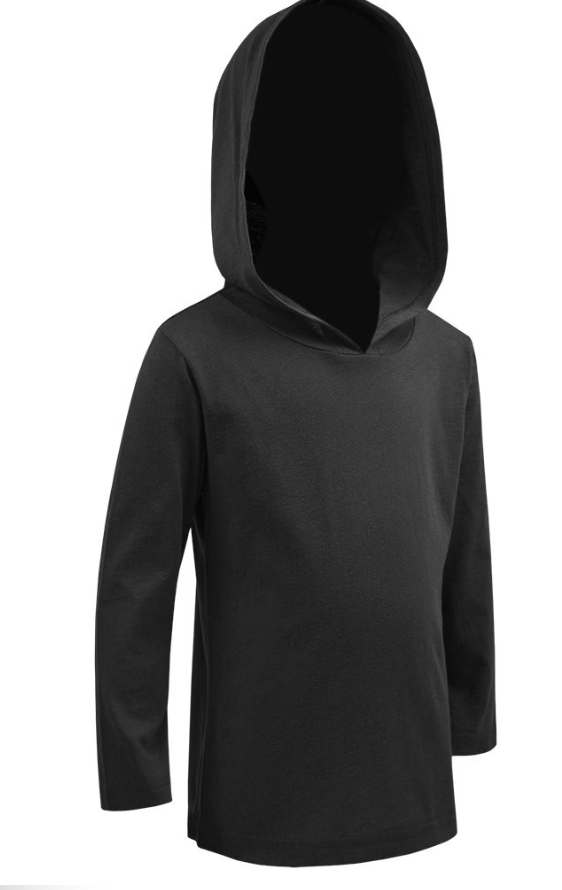 Kid's Lightweight Hooded Pullover