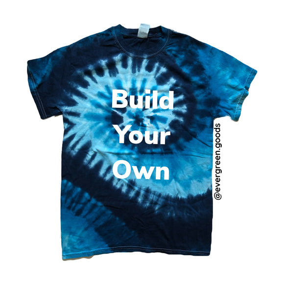 Limited Adult Blue Swirl Build Your Own Tie Dye