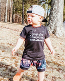 Kids Tee Black-Choose design