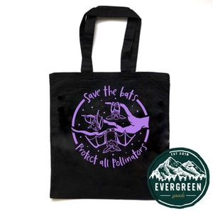 Save the Bats Tote Bag
