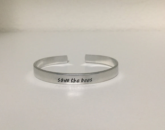 Save The Bees Bangle
