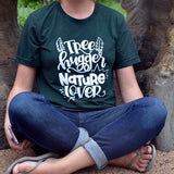 Tree Hugger, Nature Lover Adult Tee
