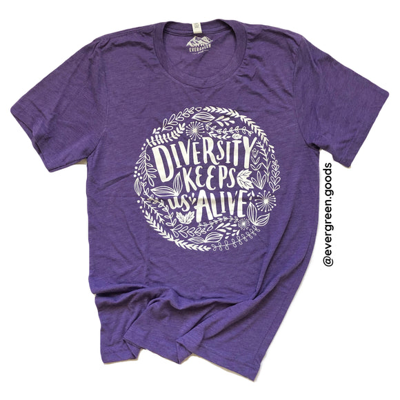 Diversity Adults Tee-Summer Edition