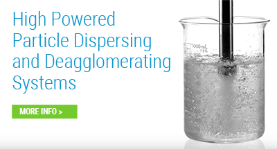 Particle Dispersing and Deagglomerating