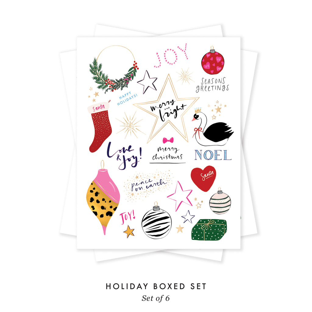 Holiday Collage - BOXED SET