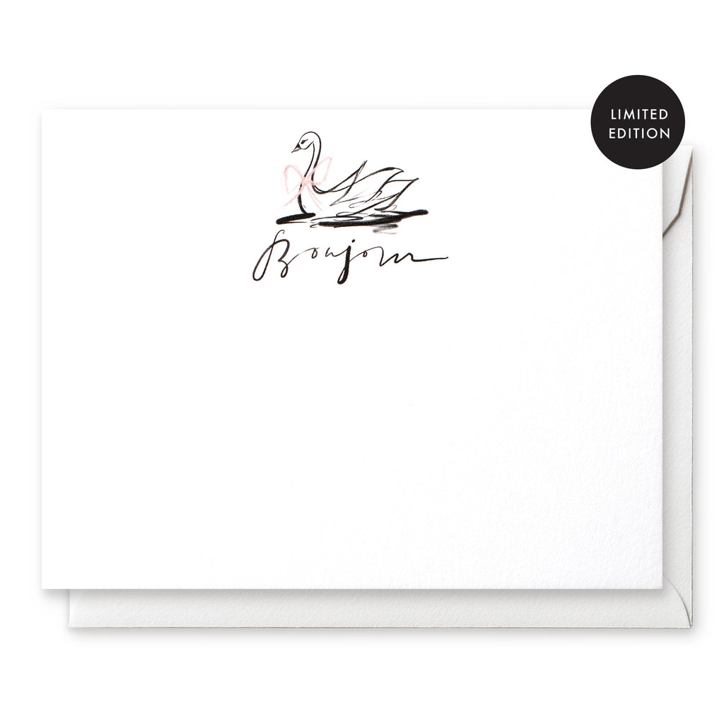 LIMITED EDITION Luxe Social Stationery: The Swan