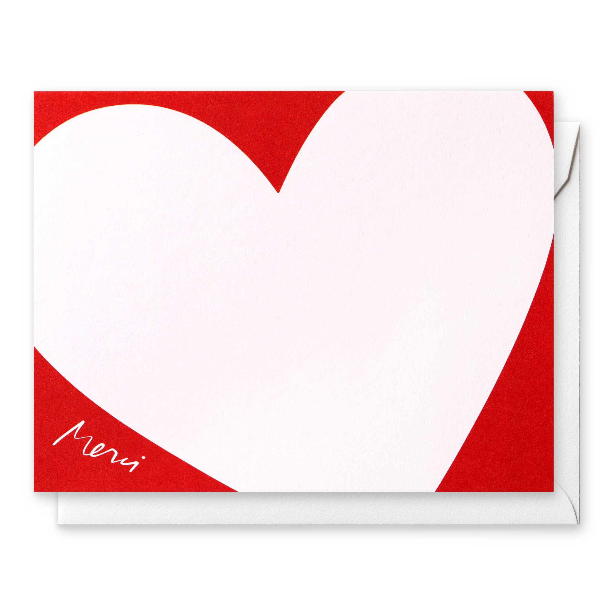 Luxe Social Stationery: Big Heart