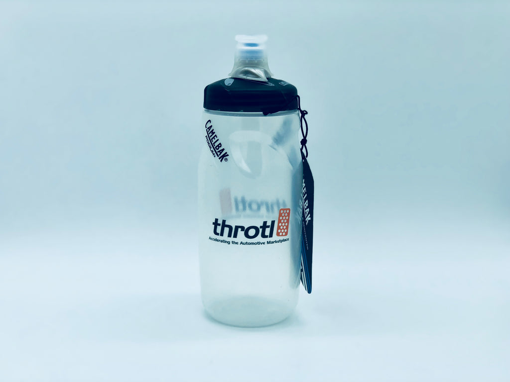 throtl Bottle -  Black Podium Water Bottle