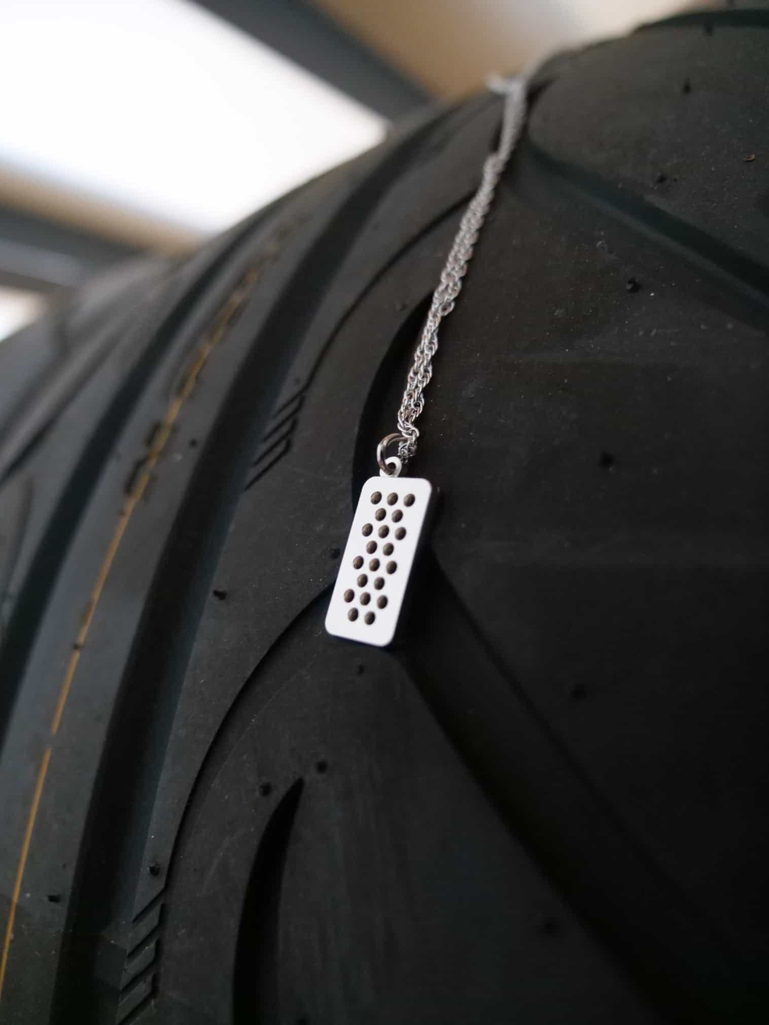 throtl Pedal Necklace First Edition