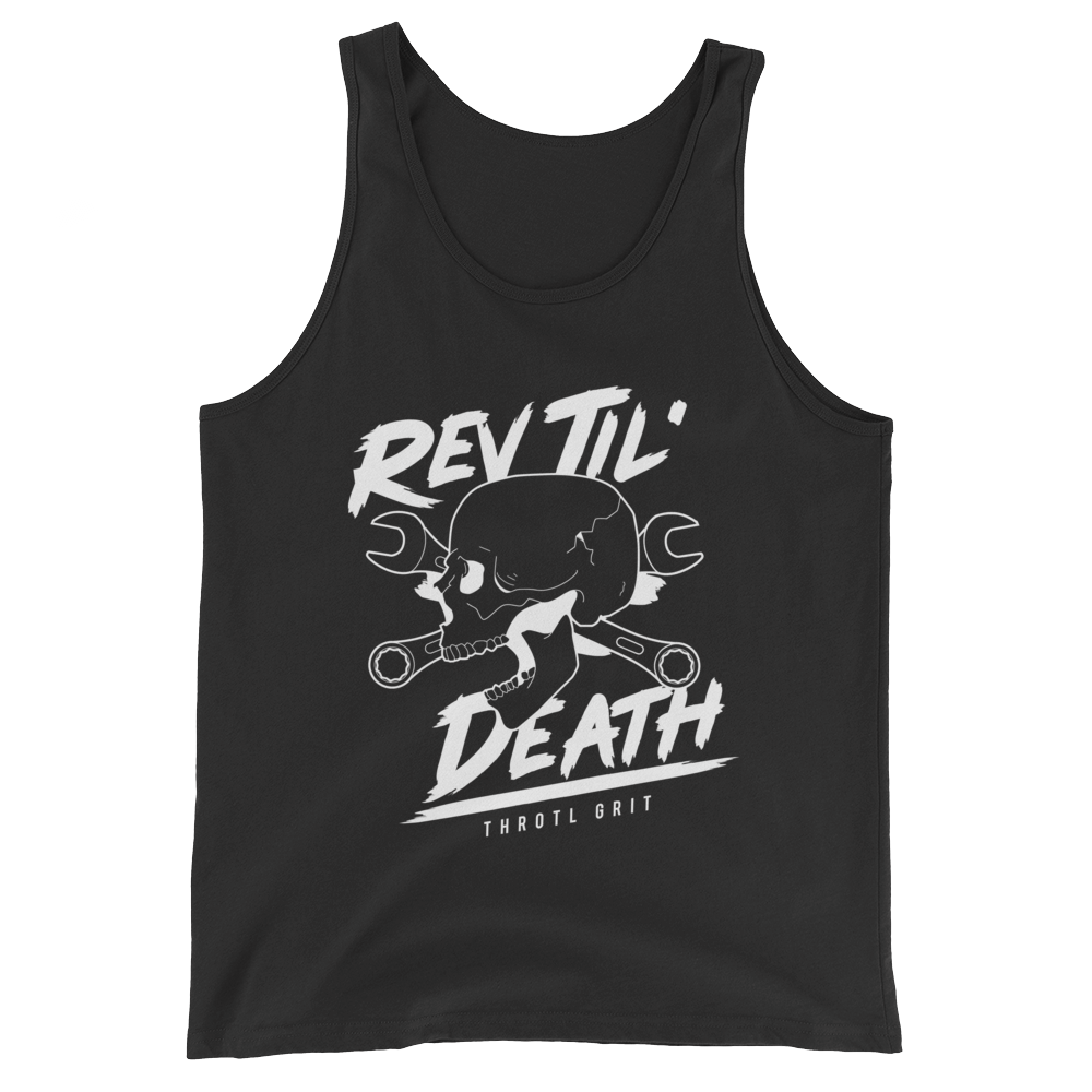 Rev Til' Death - throtl Grit - Tank Top (Black)