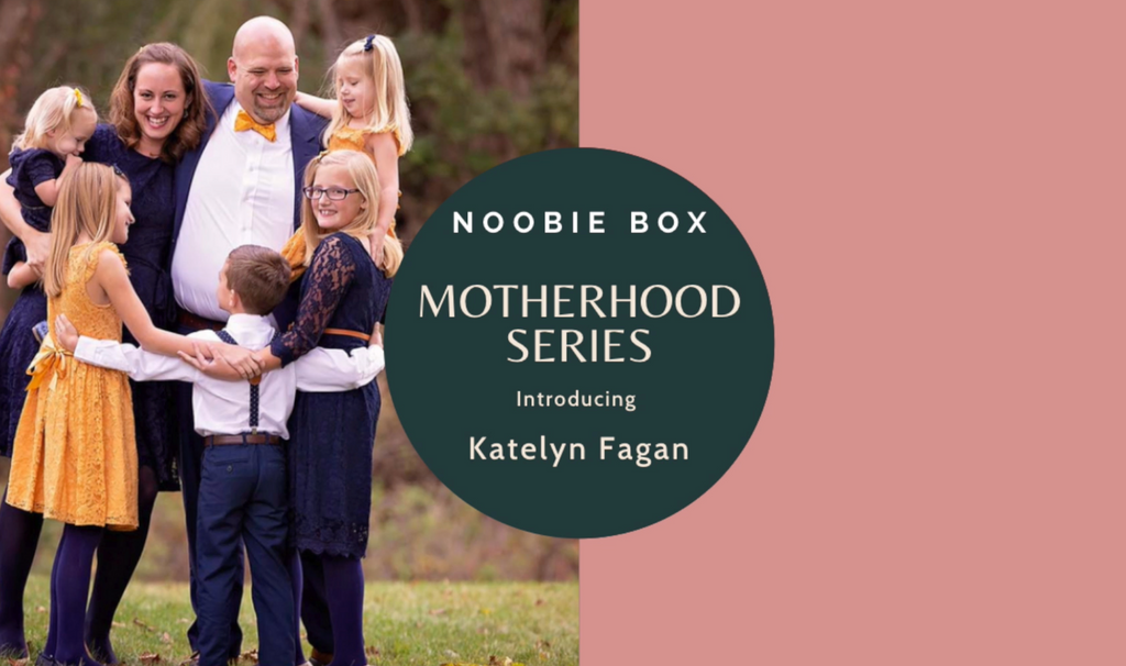Motherhood Series : Motherhood Blogger Katelyn Fagan