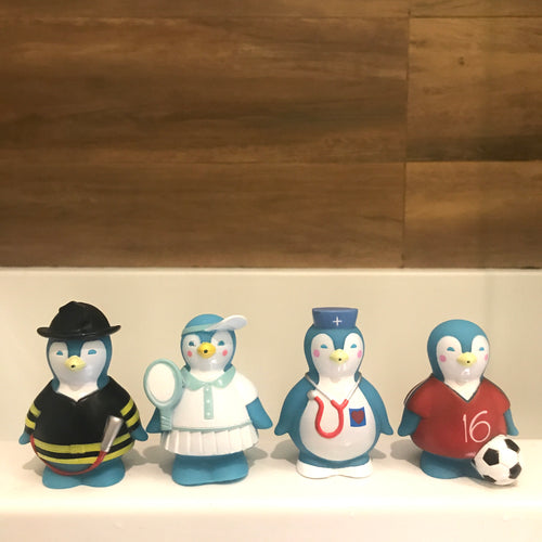 Bioderma bath toy penguin set (4 pieces)