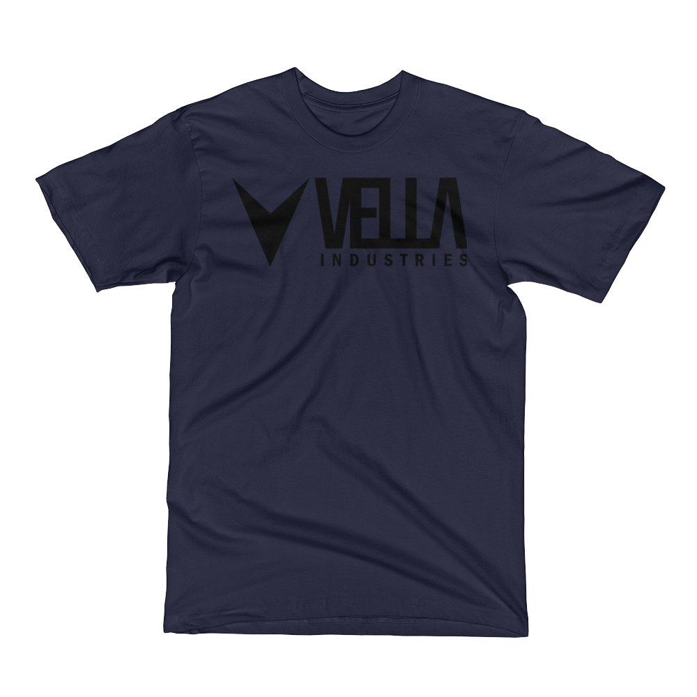 Vella Industries Men's Short Sleeve T-Shirt Made in USA