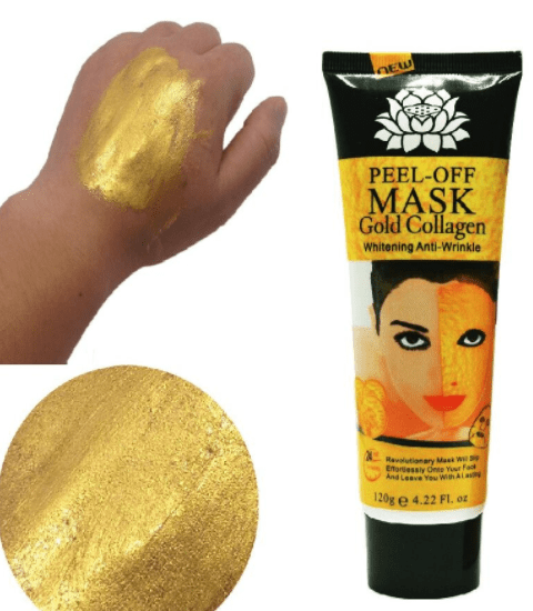 Le Masque Anti-Rides 24k d'Or