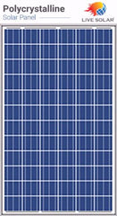 Live Solar Poly PV Panel 260w - 72P