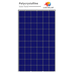 Live Solar Poly PV Panel 255w - 72P