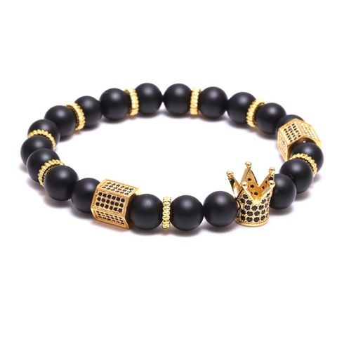 Royal Agate Pillars - mens fashion bracelets