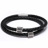 The Anatolia - men's leather bracelet