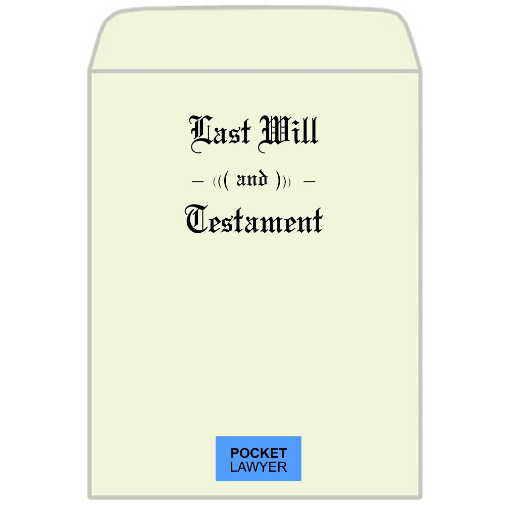 make a will online pocket lawyer bespoke will