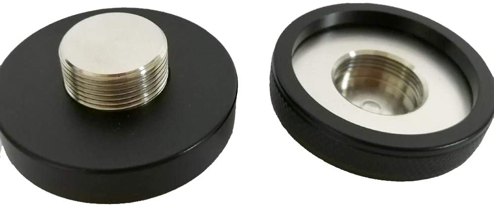 Double Sided Espresso Tamper & Distributor - 53mm - Coffee Leveler for Portafilter - Professional Barista Tools