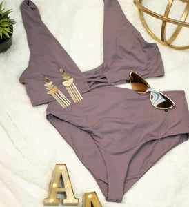 Lilac Two Piece Bikini
