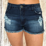 Roxy Mid Rise Denim Shorts