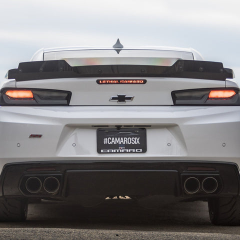 """Lethal Camaro"" 3rd Brake Light Blackout Kit - 2016-2020 Camaro (6th Gen)"