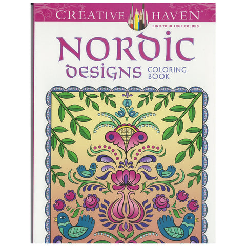 Nordic Designs adult coloring book