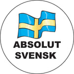 Absolut Svensk round button/magnet