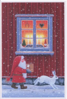 Eva Melhuish Advent Calendar Card