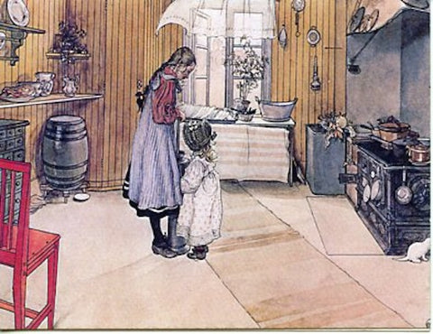 Boxed Note Cards, Carl Larsson Kitchen