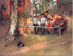 Boxed Note Cards, Carl Larsson Breakfast under the big birch